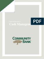 Community Bank Cash Management Guide