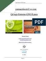 Programacion en C++ con Qt bajo Entorno GNU/Linux