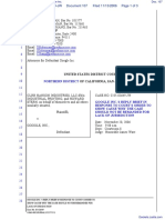 CLRB Hanson Industries, LLC et al v. Google Inc. - Document No. 107