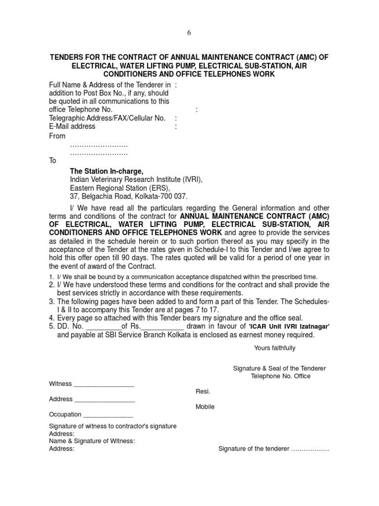 Amc Electrical Form Partnership Employment