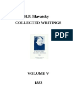 H.P. Blavatsky - Collected Writings - VOLUME v (1883)