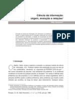 SARACEVIC_Ciencia Da Informacao Origem Evolucao e Relacoes