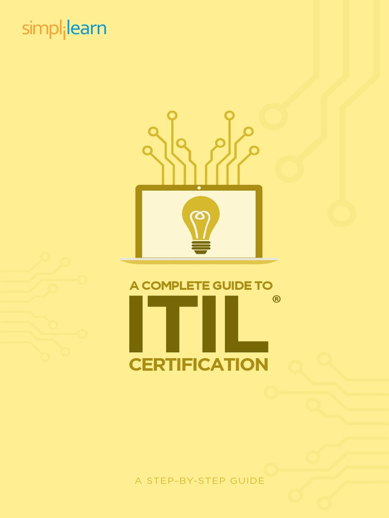 Itil Guidebook Itil Professional Certification