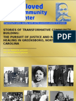 Stories of Transformative Community Building