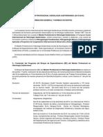IV Master Profesional en Hidrologia Subterranea - Informacion General y Normas Docentes