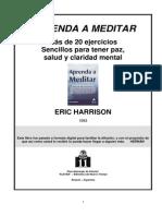 Aprenda a Meditar Eric Harrison