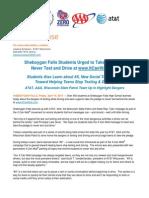 4.10.15 -- Sheboygan Falls Hs It Can Wait Event