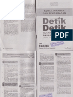 Pembahasan Buku Detik Detik UN Bahasa Indonesia untuk Program IPA, IPS, dan Keagamaan