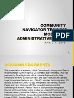 CN Training (English) - Module 3 - Administrative Relief (1)