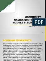 CN Training (English) - Module 6 - Screening