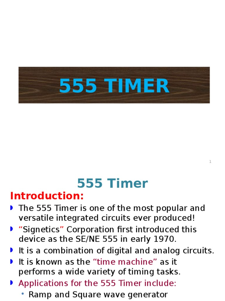 555 Timerapplication Detector Radio Analog Circuits Astable Operation Mode Circuit