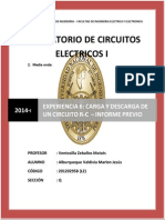 Informe Previo 6 EE-131 Laboratorio de circuitos electricos I