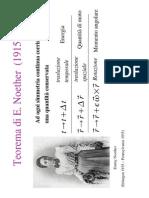Teorema Di Emily Noether
