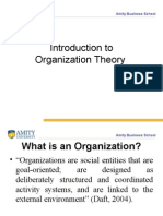 Theory of Organization