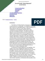 3.9 [1] Web Reading Krashen and Terrells Natural Approach