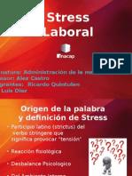 Estress Laboral