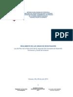 Reglamento Líneas de Investigación Unefa 2014