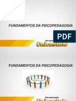 Fun_psi_slides Fundamentos Da Psicopedagogia Pos