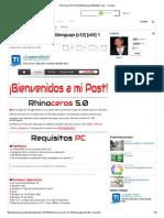 Rhinoceros 5.0 Full Multilenguaje [x32] [x64] 1 Link