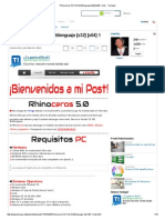 Rhinoceros 5.0 Full Multilenguaje [x32] [x64] 1 Link