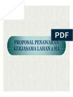 Proposal Lahan Kerjasama