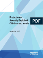 Protection of Sexually Exploited Children and Youth