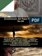 Enseñanzas Del Papa Francisco - Nº 98
