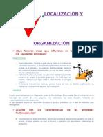 Localizacion y Organizacion