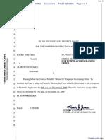 Myers v. Gonzales - Document No. 6