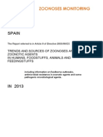 Informe Fuentes Tendencias Zoonosis 2013