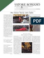 L´OSSERVATORE ROMANO - 10 Abril 2015