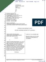 Video Software Dealers Association et al v. Schwarzenegger et al - Document No. 101