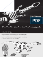 Roboreptile Manual