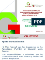 "Capacitaciã""n Planea Ems 2015_coordinadores de Aplicaciã""n (1)"