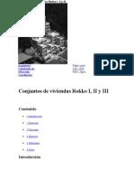 Conjuntos de Viviendas Rokko I