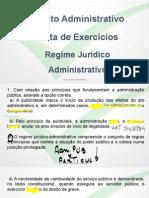 Tecnica Nocoes Direito Administrativo Exercicios Rja