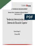 Tendencias  internacionales de los Sistemas de Educacion Superior