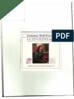 Vita Nuova di Ermanno Wolf-Ferrari -  Libretto e Note