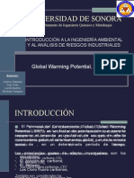 Global Warming Potential- Curso