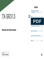 TX SR313 Espanol