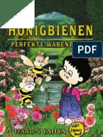 Honigbienen Perfekte Wabenbauer