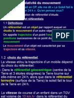 Ch+13+relativité+du+mouvement+Nouveau+Présentation+Microsoft+PowerPoint