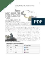 Familias Lingüísticas de Centroamérica