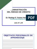 Administracion del Riesgo Crediticio