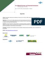 6th Forum Agenda