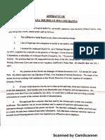 Affidavit from former SW HR Manager