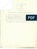 Tabela Propriedades Calculo de Estrutura