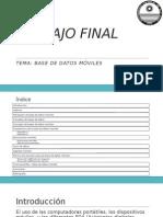 Base de Datos Móviles-Final Nov2014