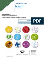 Matemáticas II-julio 2014