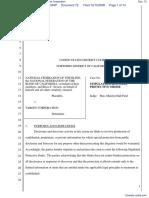 National Federation of the Blind et al v. Target Corporation - Document No. 72